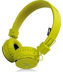 audífonos gamer, nia x2 gaming estéreo hd manos libres original auriculares bluetooth libre plegables deportivos con micrófono de apoyo tf tarjeta de radio fm (verde)