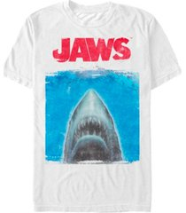 jaws men's shark movie poster short sleeve t-shirt