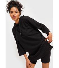 vestido jacqueline de yong negro - calce holgado