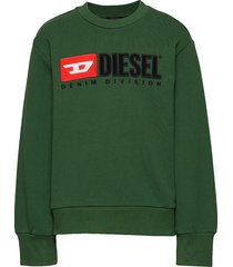 screwdivision over sweat-shirt sweat-shirt trui groen diesel