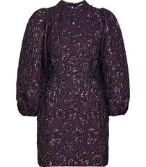 harriet short dress 12905 kort klänning lila samsøe samsøe