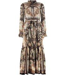 etro printed georgette maxi-dress