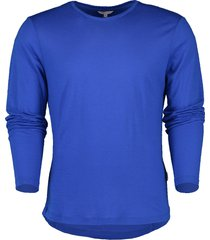 ob-t merino mazanine tailored-fit crew neck t-shirt