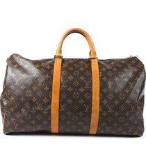 louis vuitton vintage keepall 50 monogram duffle bag