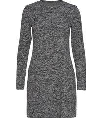 dresses knitted kort klänning grå edc by esprit
