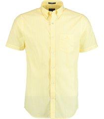 gant overhemd broadcloth geel rf 3062001/749
