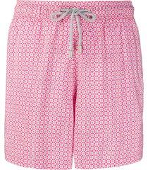 bluemint la cave print swim shorts - pink
