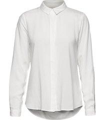 freedom ls shirt långärmad skjorta vit soft rebels
