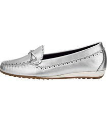 loafers liva loop silverfärgad
