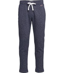 lightweight straight-leg sweatpants sweatpants mjukisbyxor blå hollister