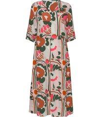 solmu karuselli jurk knielengte multi/patroon marimekko