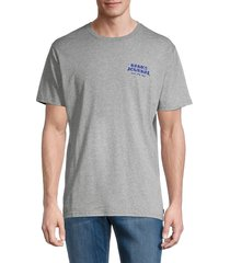 banks journal men's everywhere graphic t-shirt - heather grey - size m