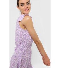 vestido violeta vespertine