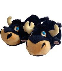 pantuflas de toro ferdinand de olé unisex hechas en colombia