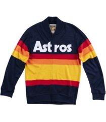 mitchell & ness men's houston astros authentic sweater jacket