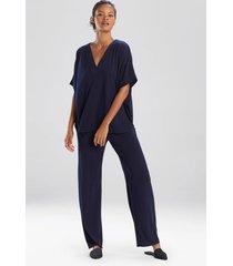 congo dolman pajamas / sleepwear / loungewear set, women's, plus size, blue, size 1x, n natori