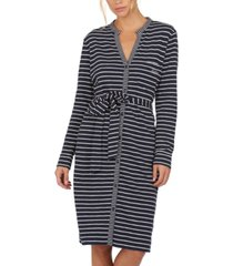 barbour auklet cotton striped dress
