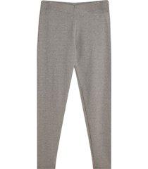 leggings mini print puntos color gris, talla 18