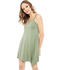 vestido pippa pati verde - calce holgado