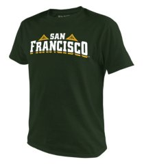 top of the world men's university of san francisco dons big logo t-shirt