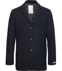 montgomery wool coat yllerock rock blå les deux