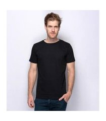 camiseta básica lisa teodoro moderna algodão nobre masculina