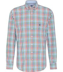 fynch-hatton overhemd multicolor ruit