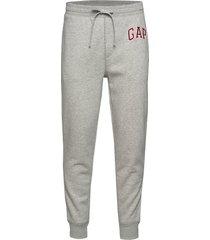 gap logo joggers sweatpants mjukisbyxor grå gap