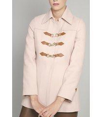 chaqueton muflon rosa bohemio liola