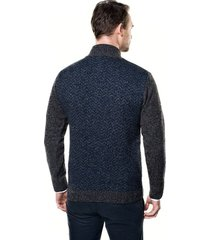 sweter grati troyer granatowy