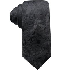 ryan seacrest distinction men's bradford slim floral silk tie, created for macy's