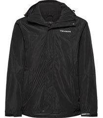 monitor m jacket regnkläder svart tenson