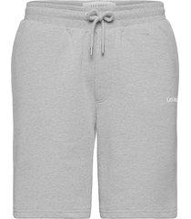 lens sweatshorts shorts casual grijs les deux