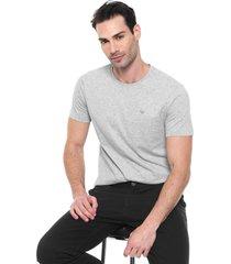 camiseta colombo logo cinza - cinza - masculino - algodã£o - dafiti