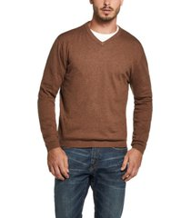 weatherproof vintage cotton cashmere v-neck sweater