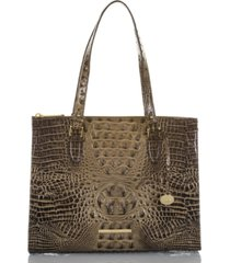 brahmin anywhere tote melbourne embossed leather tote