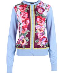 dolce & gabbana silk sweater