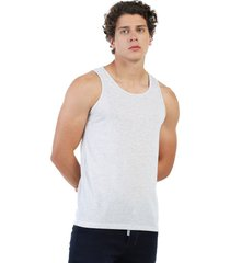 camisilla básica gris jaspe medio manpotsherd juan