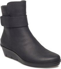 skyler shoes boots ankle boots ankle boots flat heel svart ecco