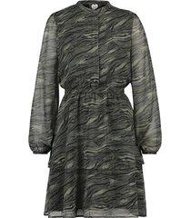 catwalk junkie dress jungle tiger vineyard jurken groen