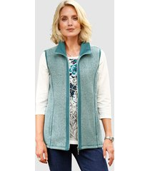 sweatbodywarmer paola mint::turquoise