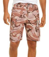g-star raw men's camo cargo shorts, created for macy's