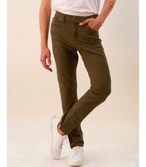 pantalón verde mancini vaquero