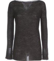 parosh mohair sweater boat neck