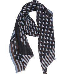 emporio armani dober-man scarf