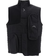 a-cold-wall bimaterial asymmetrical vest