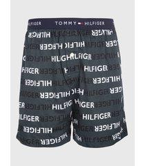 boxer knit negro tommy hilfiger
