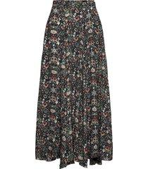 joyo kaleido skirt lång kjol svart zadig & voltaire