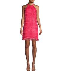 playtime lace fringe dress