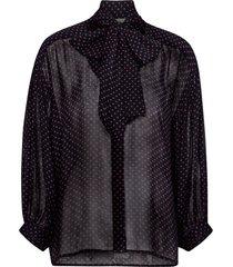 knytblus james star blouse